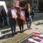 Saray Güven'in Katledilişi Protesto Edildi