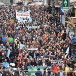Kadıköy'de Dersim'e yapılması planlanan barajlar protesto edildi