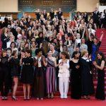 Cannes Film Festivali'nde kadınlar eşitlik için yürüdü