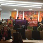 Kadın kurumlarından Avusturya Parlementosu işgali