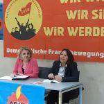 Innsbruck'da 8 Mart ve Son Siyasal süreç konulu panel