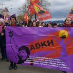 Zürih'te coşkulu 8 Mart!