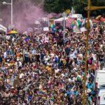 Fransa'nın Strasbourg şehrinde LGBTİ yürüşü