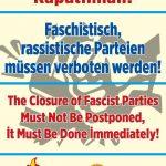 Faşist, Irkçı Partiler Kapatılmalı