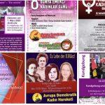 ADKH'nin 8 Mart etkinlikleri