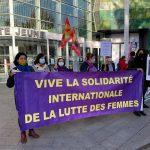 """Fransa'nın Mulhouse kentinde; """"25 Kasım Kadına Yönelik Şiddetle Mücadele Günü"""""""